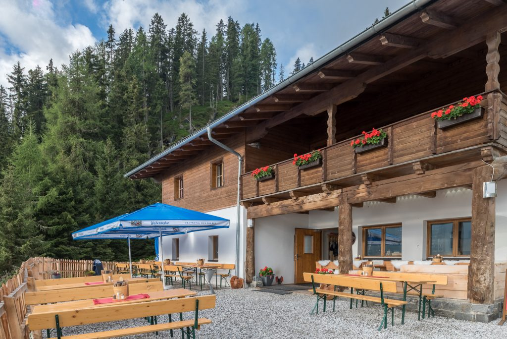 Milderaunalm im Stubaital in Tirol